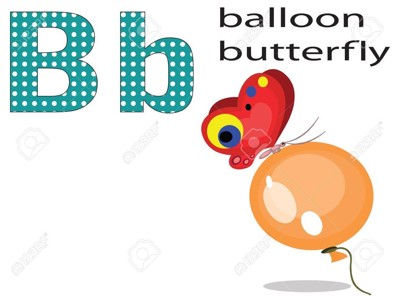 Children alphabet , B. Stock Vector - 11654853