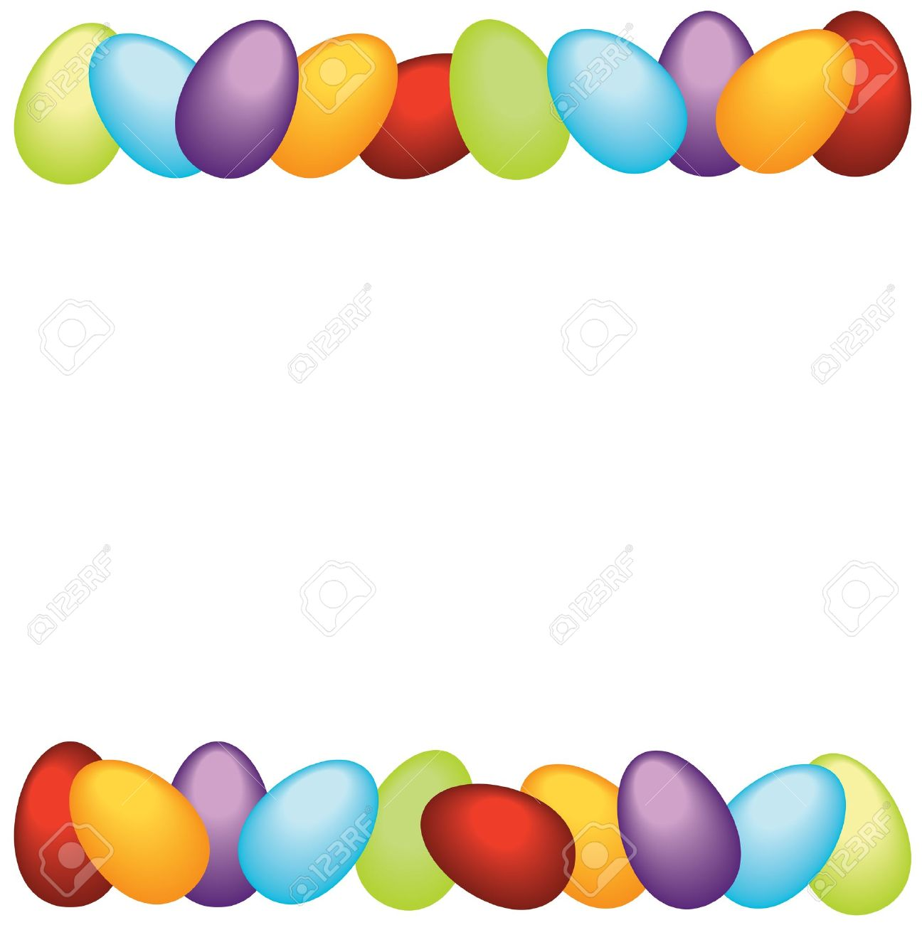Easter Frame Royalty Free Cliparts, Vectors, And Stock Illustration ...