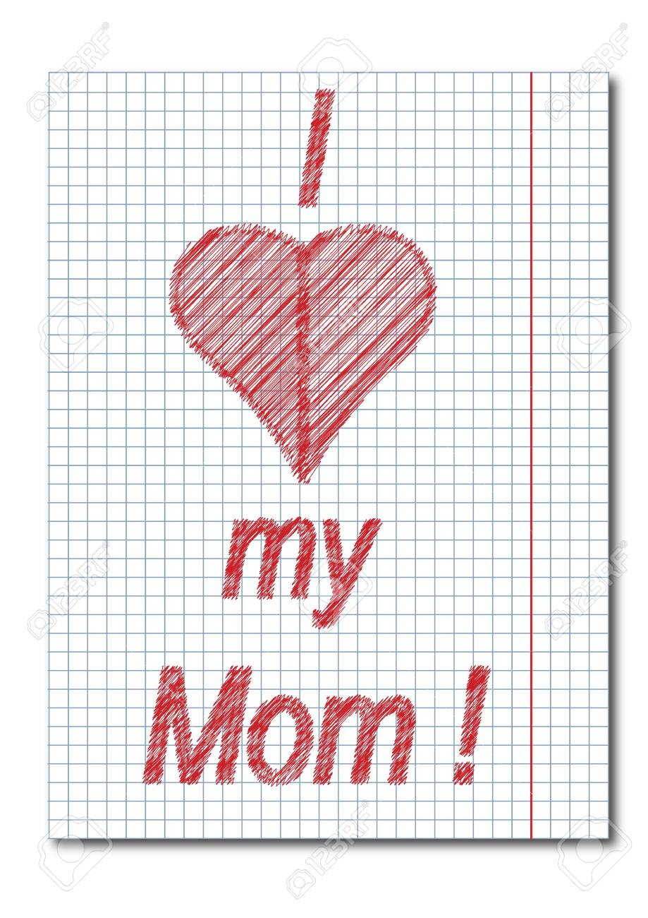 Mom day card Stock Vector - 20681627