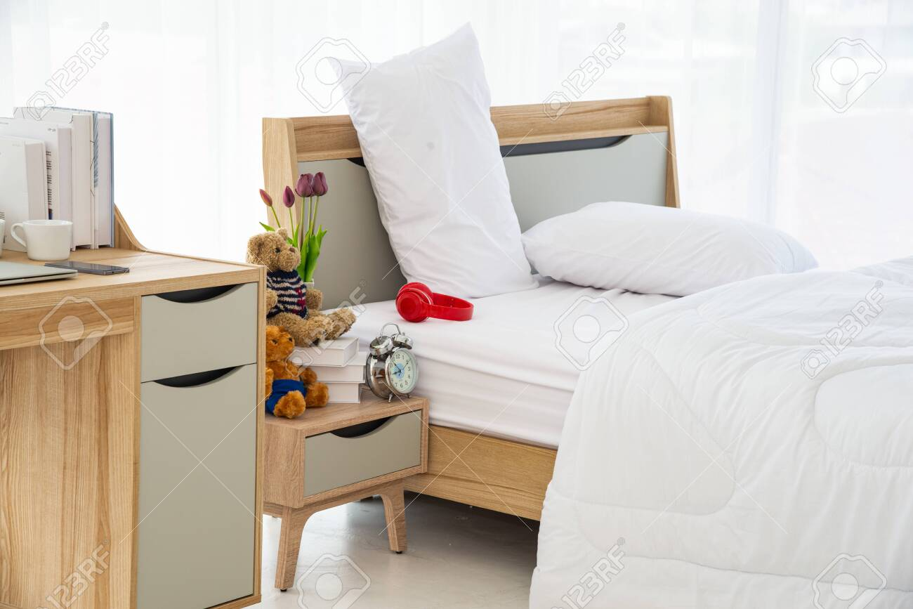 The Modern Or Minimal Interior Bedroom Design Decorated With