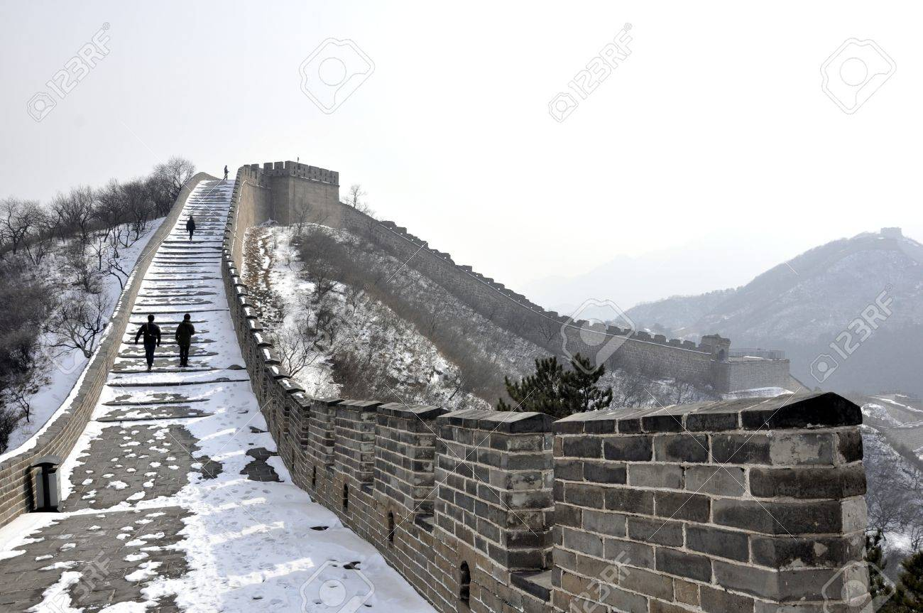 The Great Wall at Badaling near Beijing, China Stock Photo - 8139942