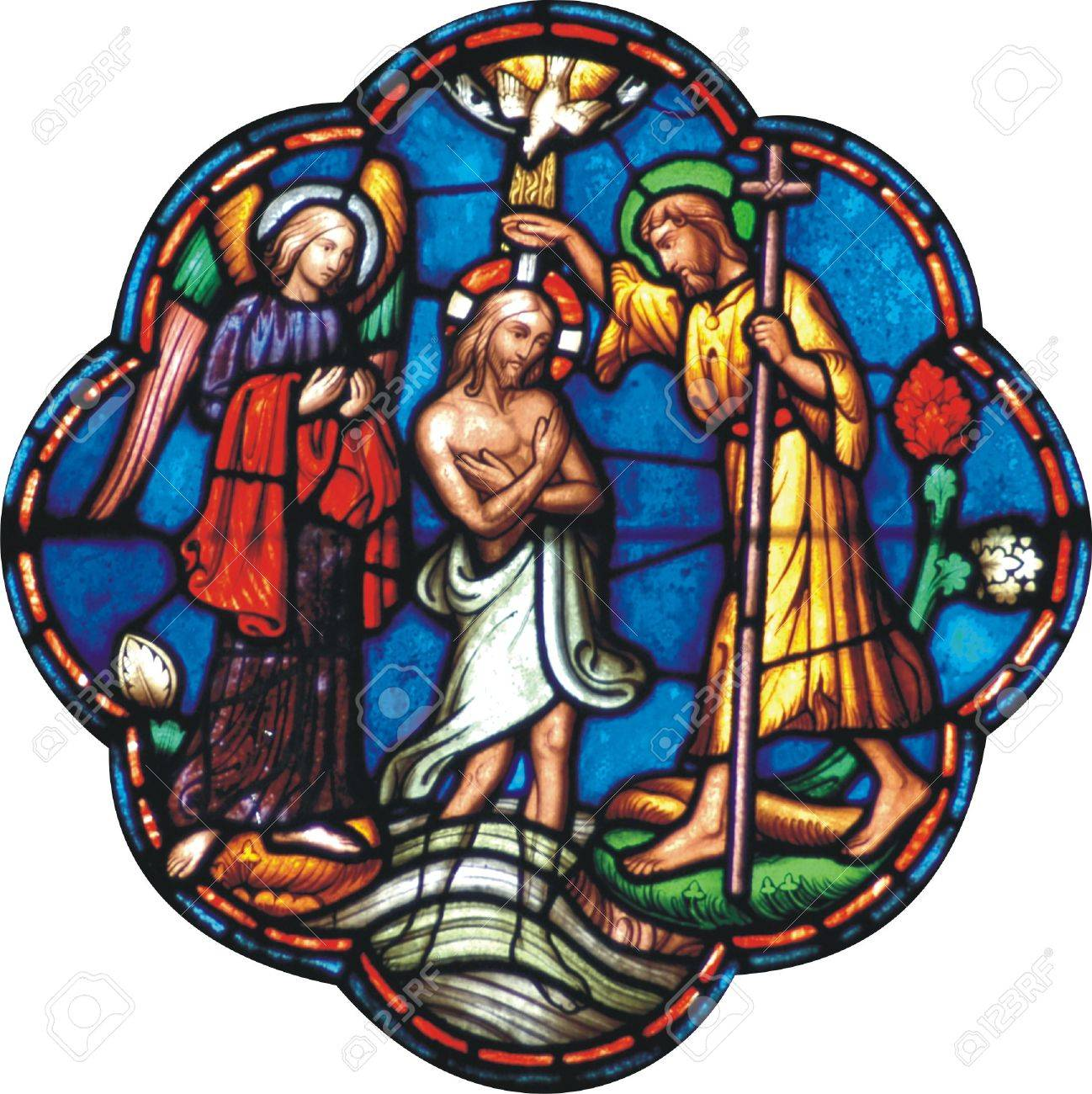 baptism of jesus stock photo picture and royalty free image
