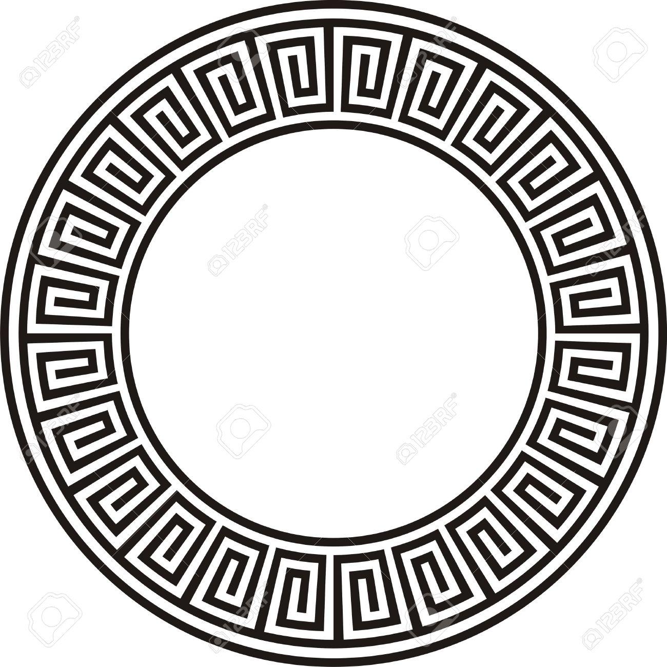 Ancient circular aztec design in black and white stock photo ancient circular aztec design in black and white stock photo 43127544 buycottarizona Gallery