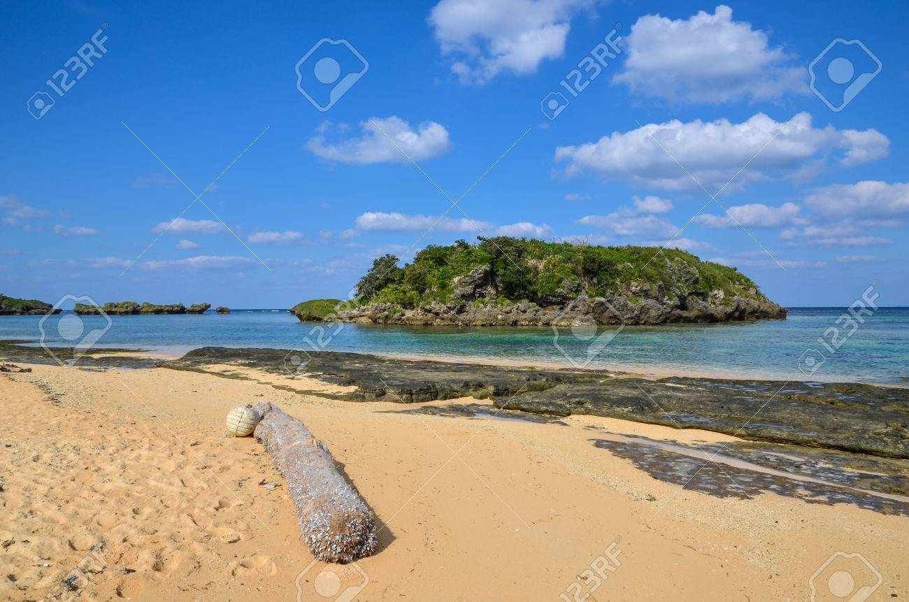 Tropical coast at the japanese island Iriomote, one of the most southern islands among the Yaeyama islands Stock Photo - 24872480