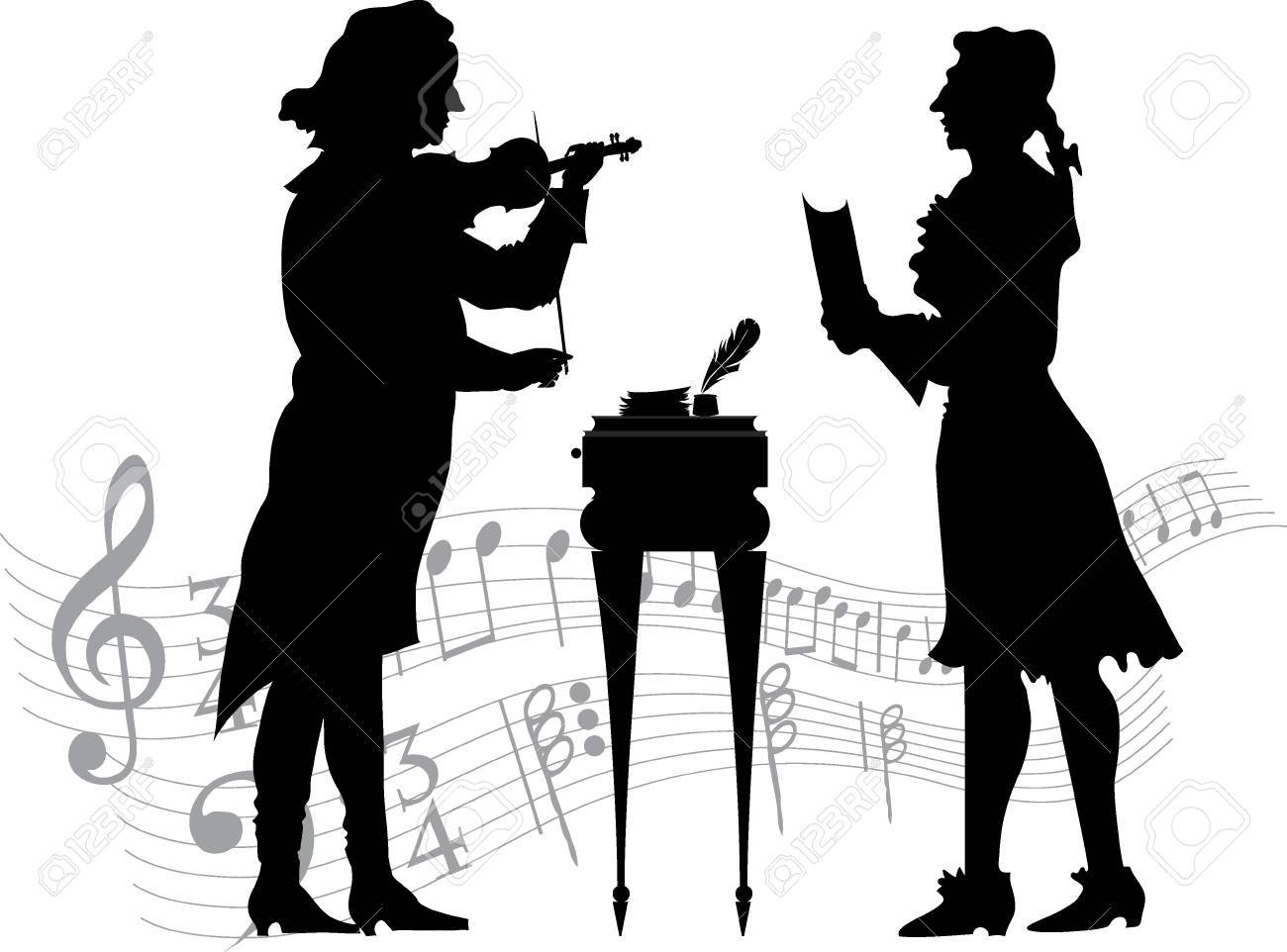 Classical musicians Stock Vector - 16879297