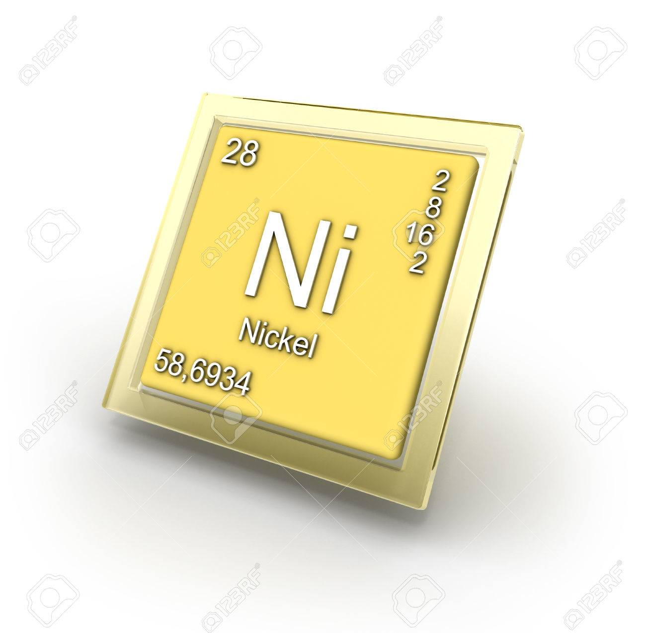 Nickel chemical element sign part of collection stock photo picture nickel chemical element sign part of collection stock photo 28293487 buycottarizona Images