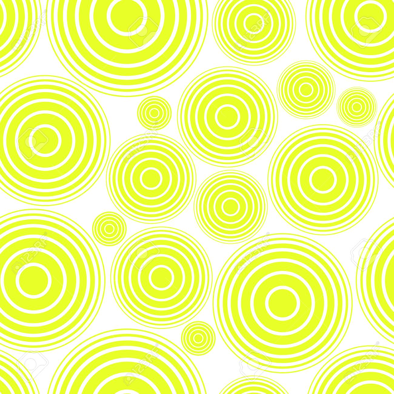 Seamless Pattern Of Lime Green Circles Design Elements For Printables Card Wallpaper