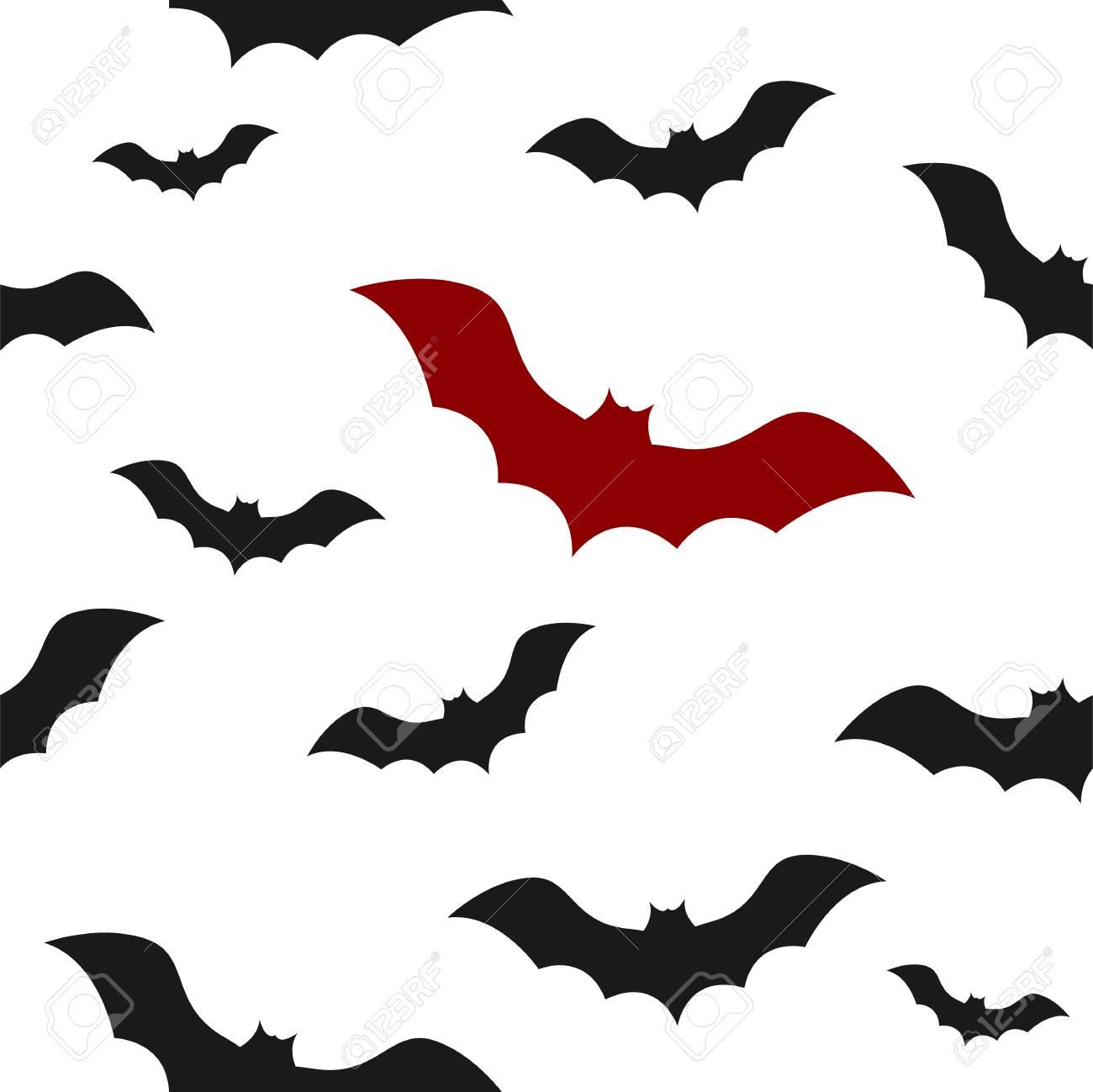 Vector template of seamless pattern with bats concept of halloween vector vector template of seamless pattern with bats concept of halloween ilustration maxwellsz