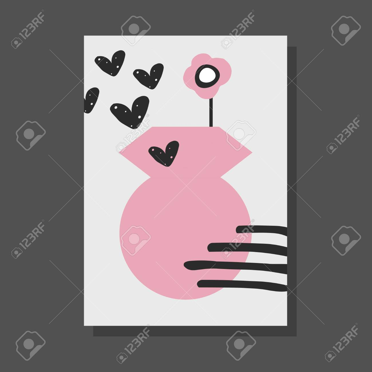 Cute Childish Drawings For Postersbannersgreeting Cards Good