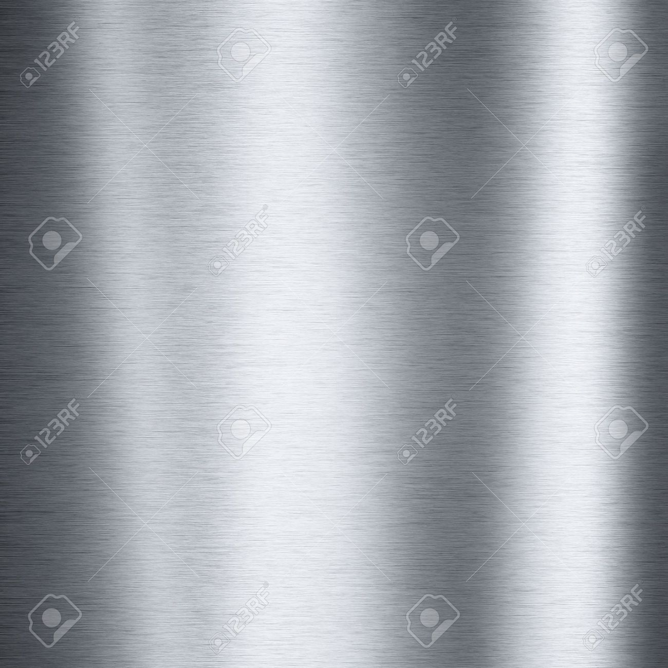 Brushed aluminum metallic plate useful for backgrounds Stock Photo - 8595318