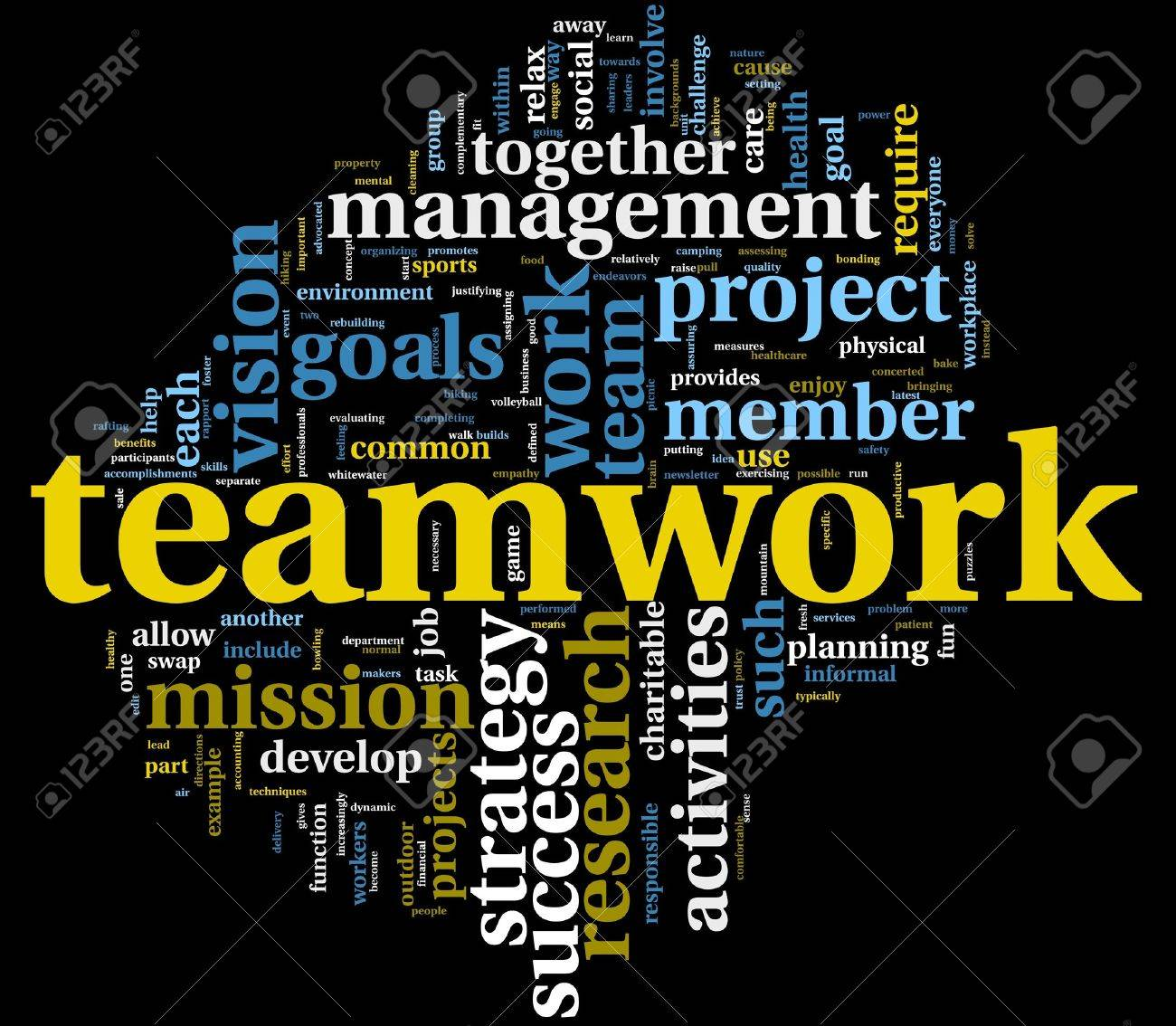 teamwork concept stock photos images royalty teamwork concept teamwork and strategy concept in word tag cloud stock photo