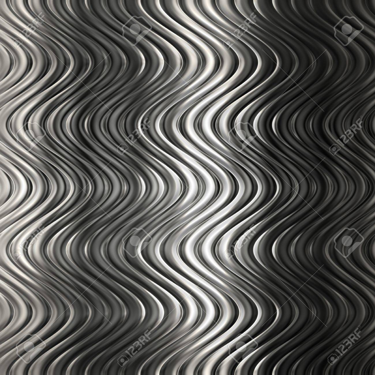 Aluminum silver  pattern background with twisted stripe Stock Photo - 21750161
