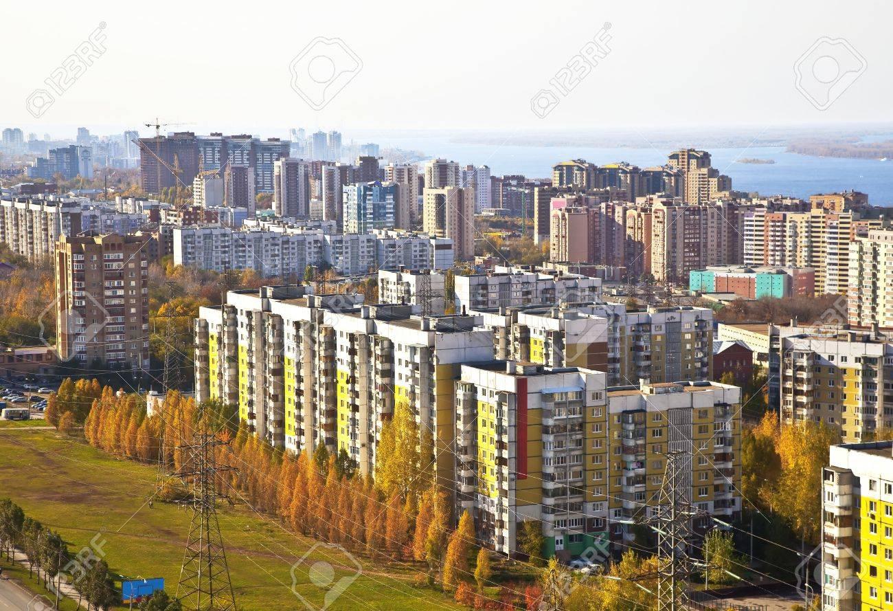 Rincón De Sueño De La Vivienda Social En La Ciudad De Samara. En El ...