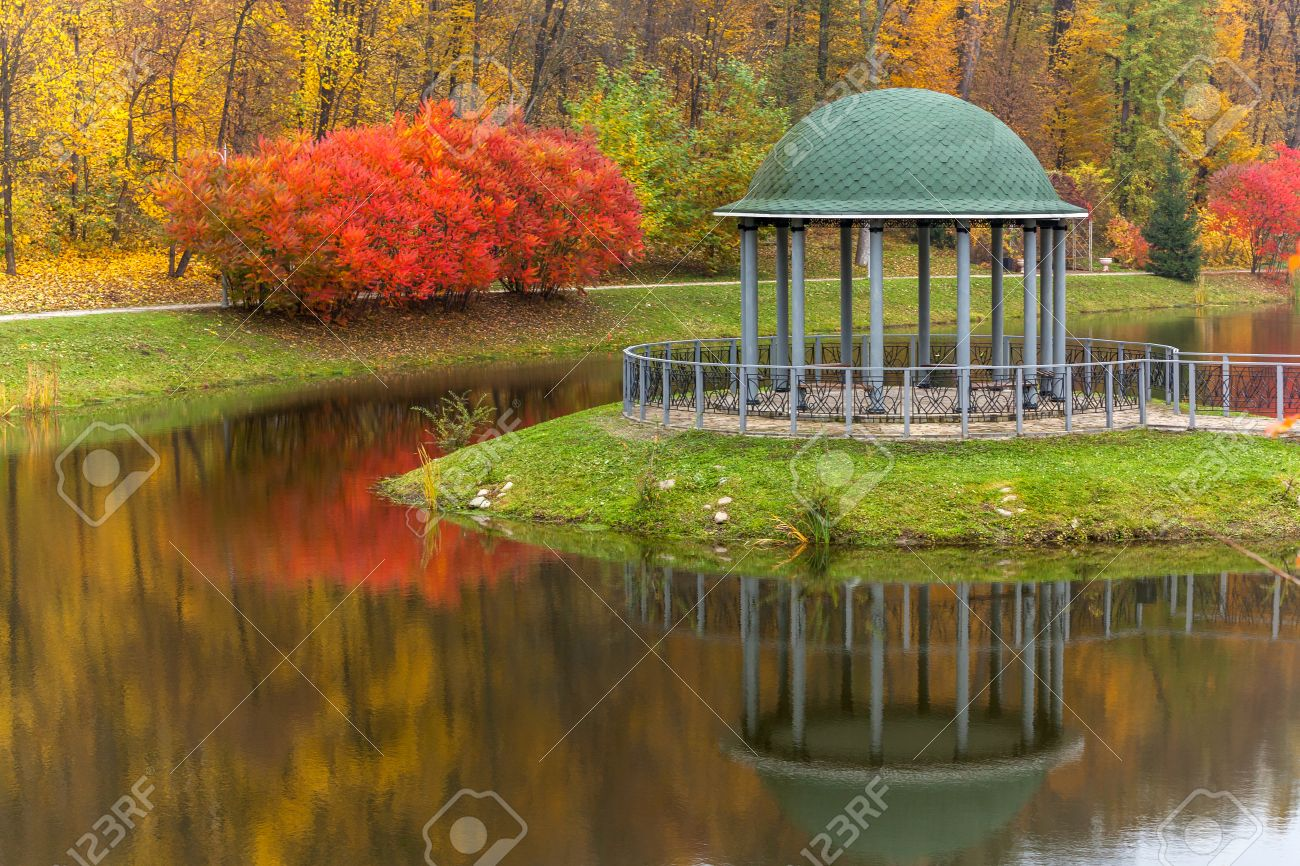 Park, Autumn, Nature, Panorama, Landscape, Garden, Colorful Trees ...