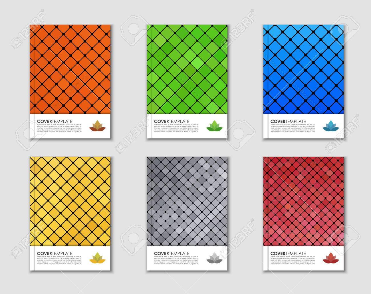 Diseño Cubiertas Para Libros, Folletos E Informes. Textura Plantilla ...