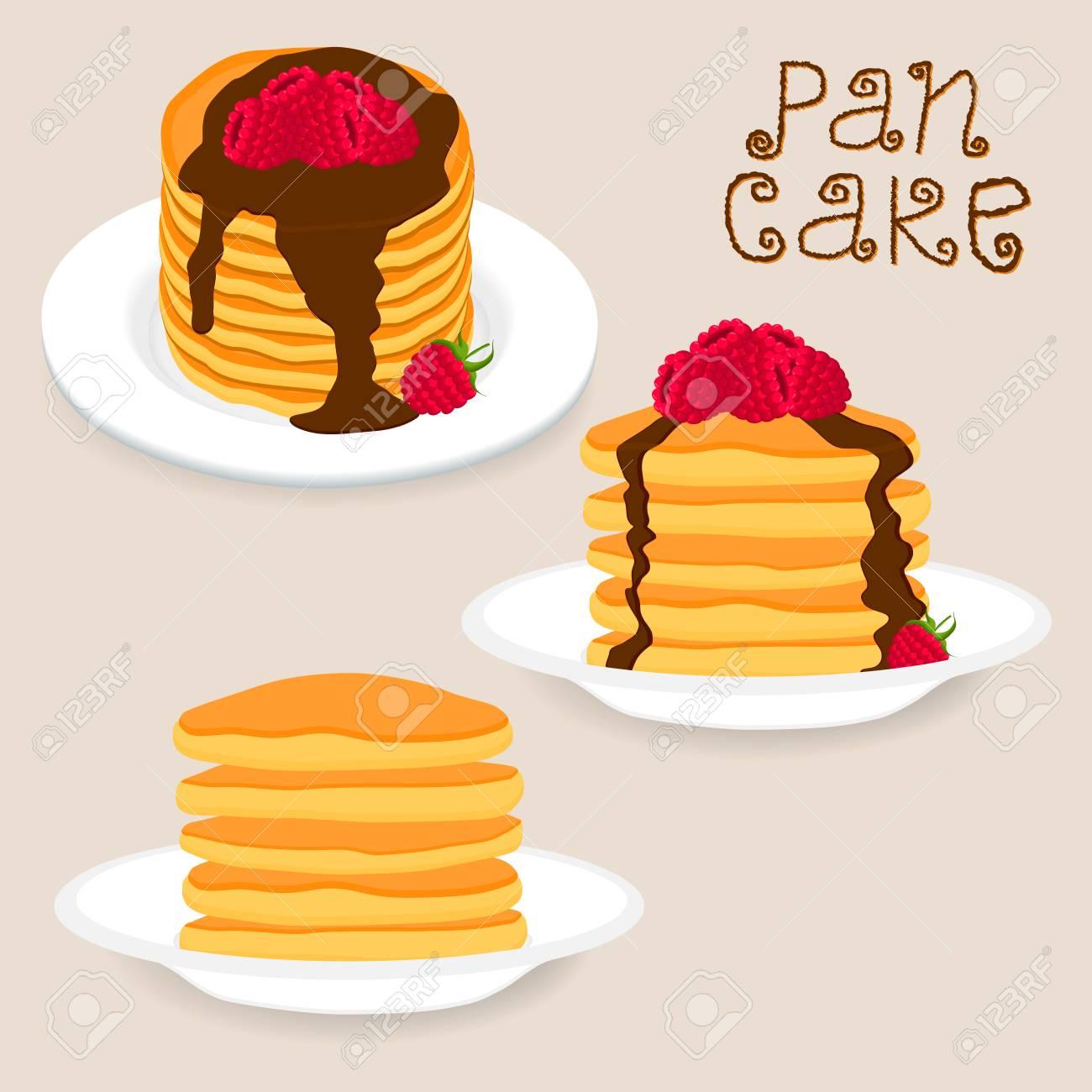 gelbes kuchendesign logos, abstraktes vektorikonen-illustrationslogo für gelben pfannkuchen, Design ideen