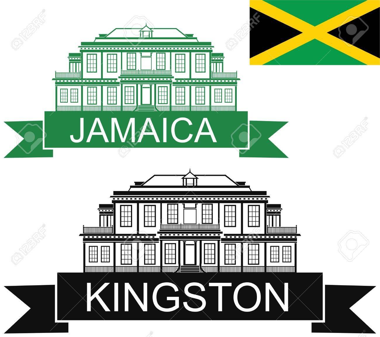 Image result for jamaica, Kingston clipart