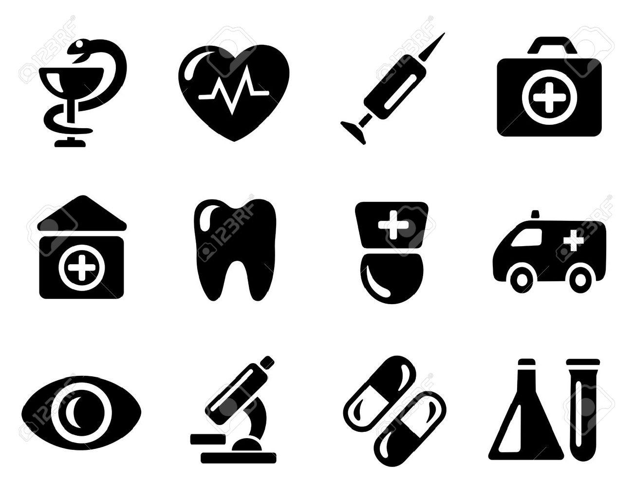 Medicine icon set - 13464477