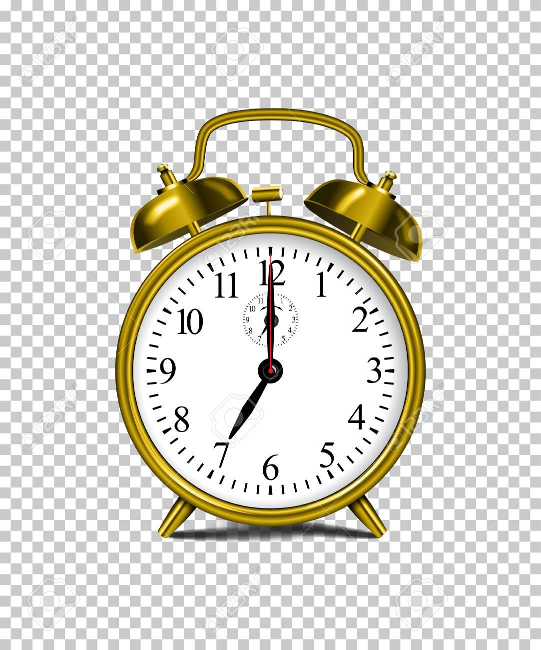 Alarm Transparent Clock