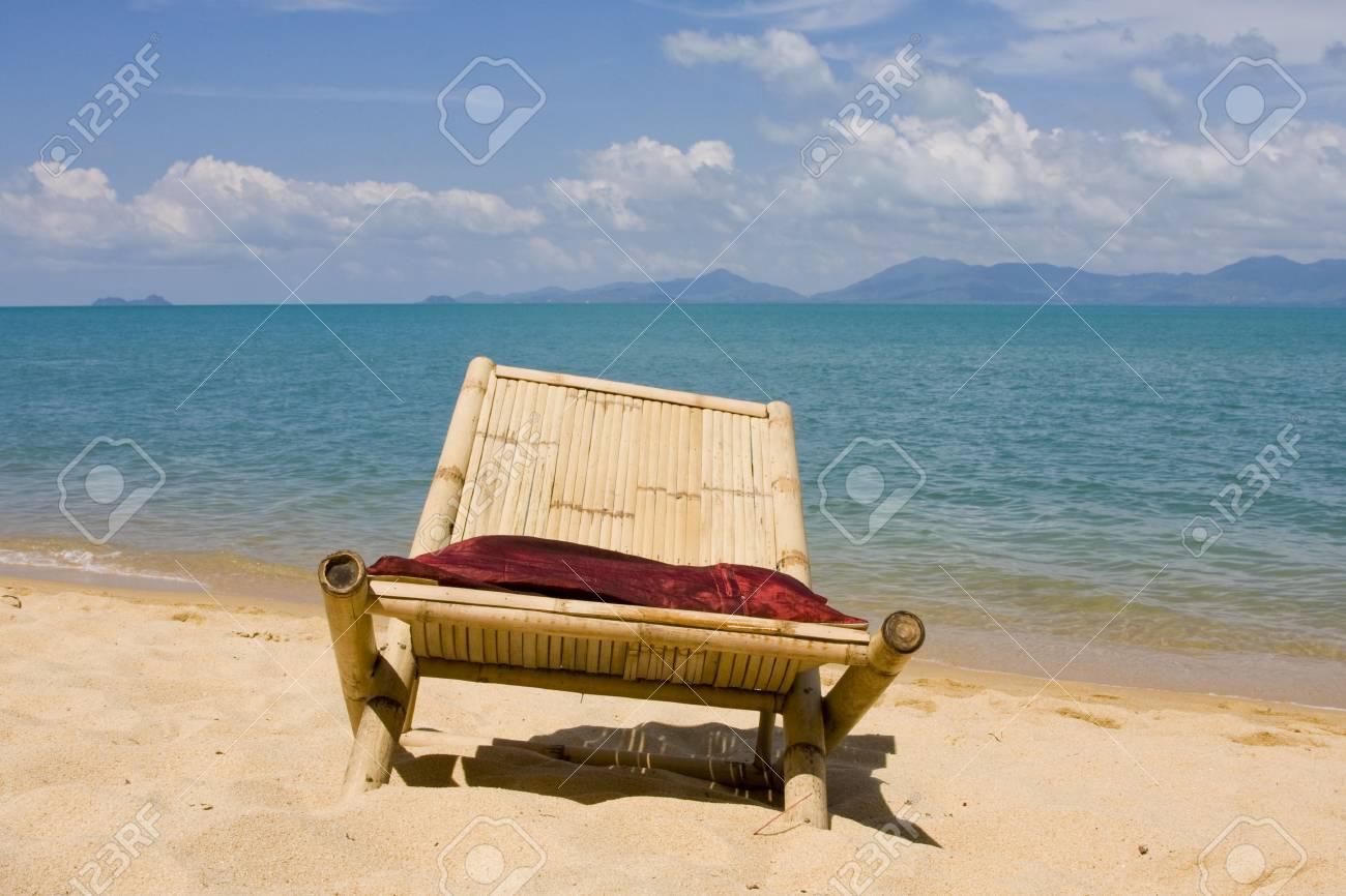 Beach on a sunny day.Thailand . Stock Photo - 6515332