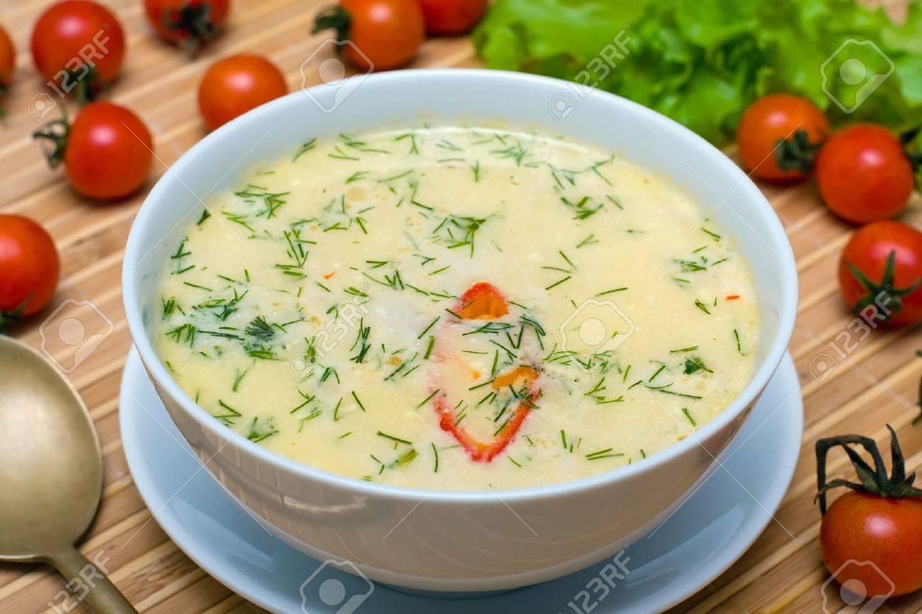 Сырный суп с курицей рецепт пошаговый с