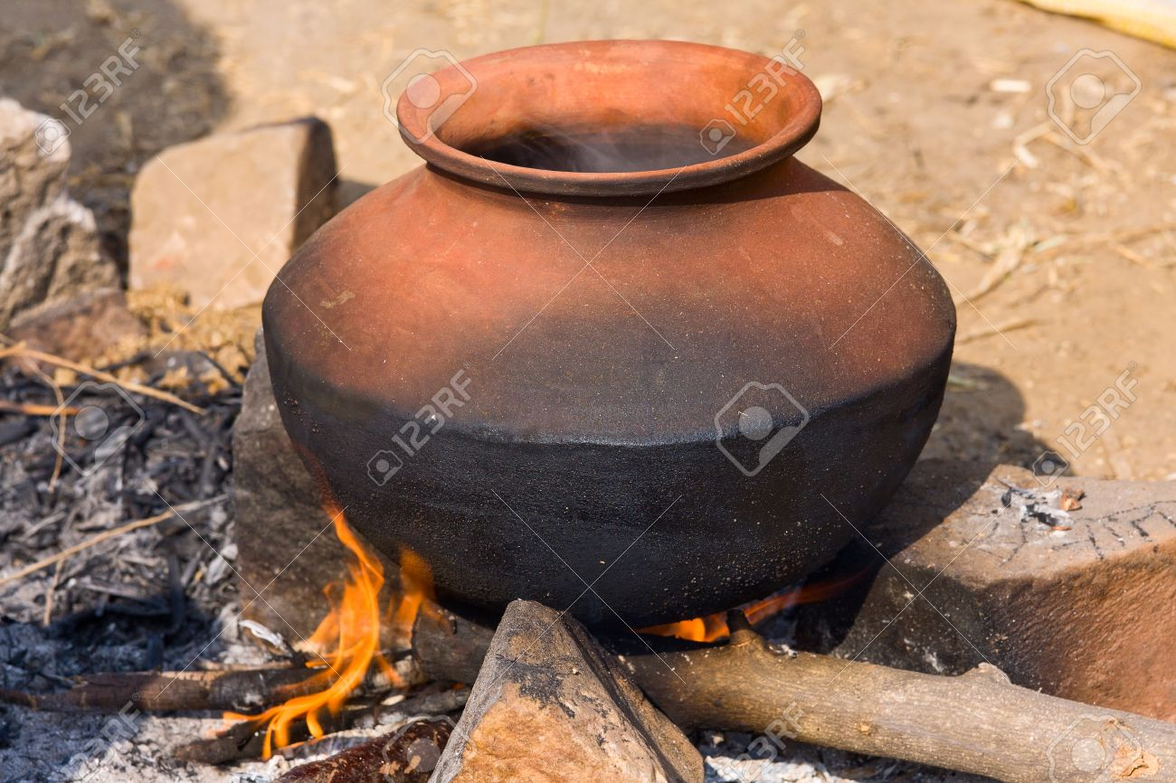 Clay Pot With Food On Fire India Stock Photo Picture And Royalty Free Image Image 21429887,How To Clean Fish Tank Filter Sponge