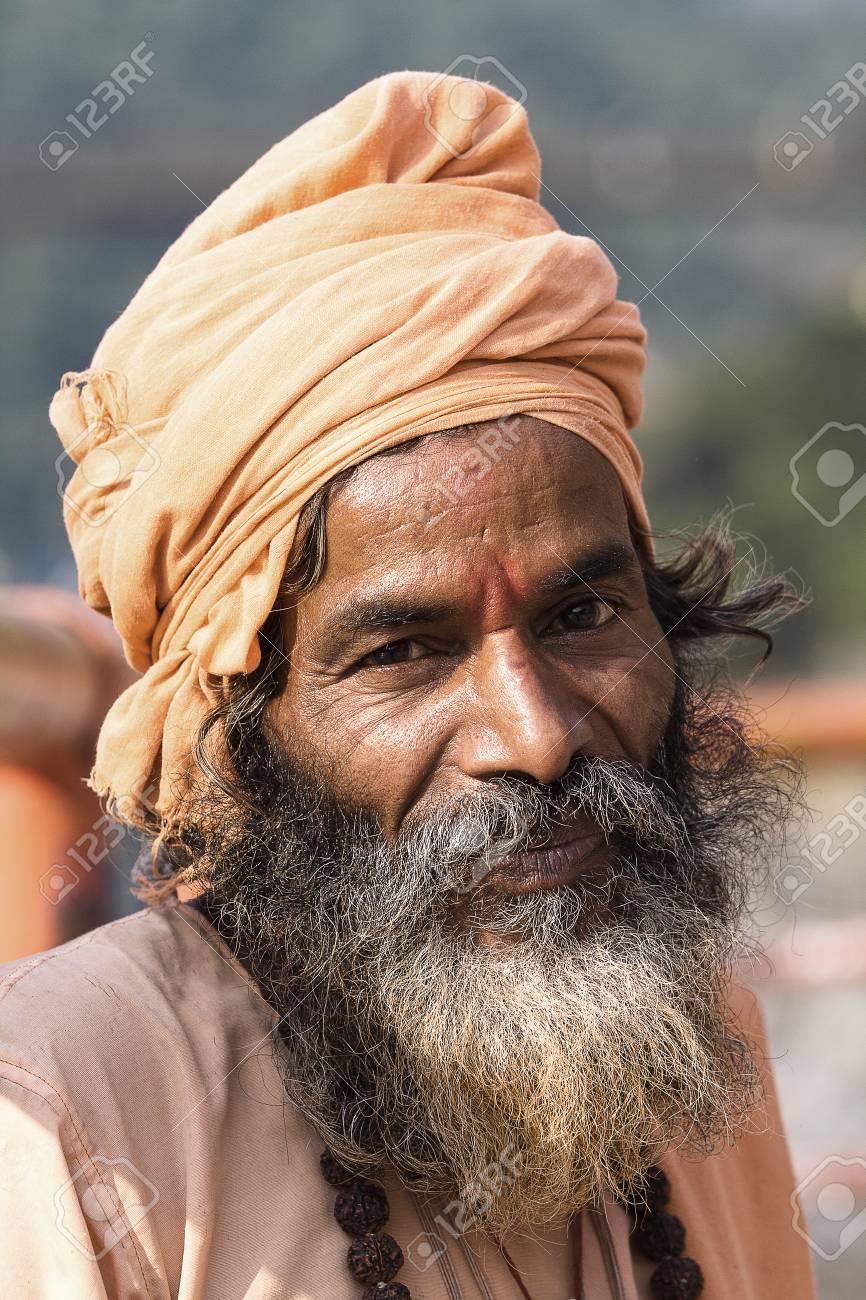 Indian sadhu  holy man   Devprayag, Uttarakhand, India Stock Photo - 22691363