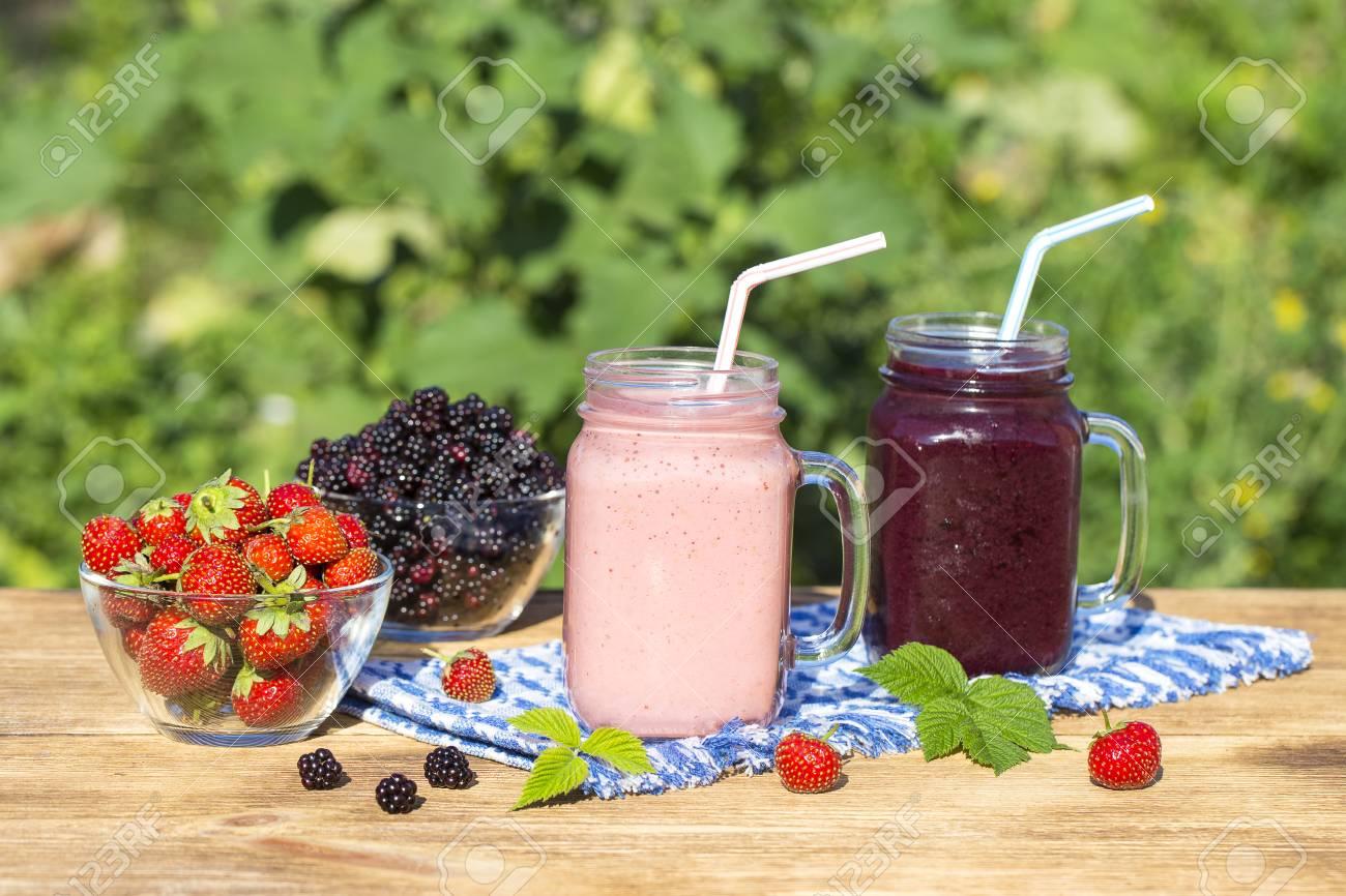 batido de fresa y platano dieta