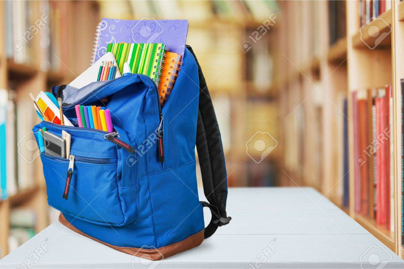 3ecebd5ae6c School, Backpack, Back. Stock Photo, Picture And Royalty Free Image ...