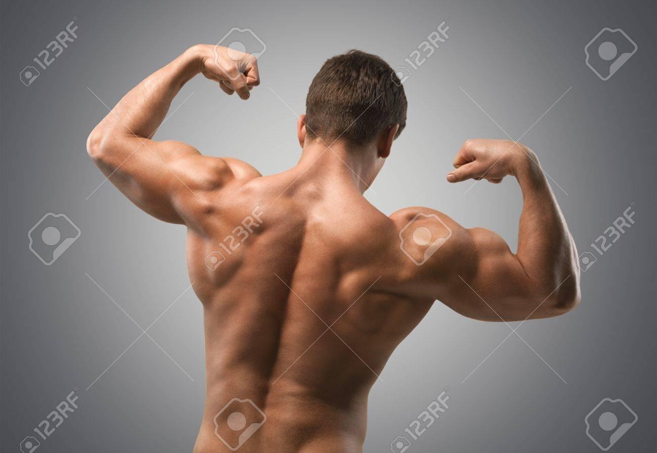 Bodybuilding, Muskulös, Menschlicher Muskel. Lizenzfreie Fotos ...