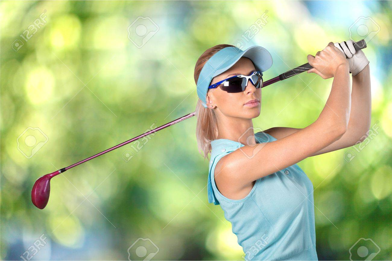 Golf Women Sunglasses Stock Photo Picture And Royalty Free Image
