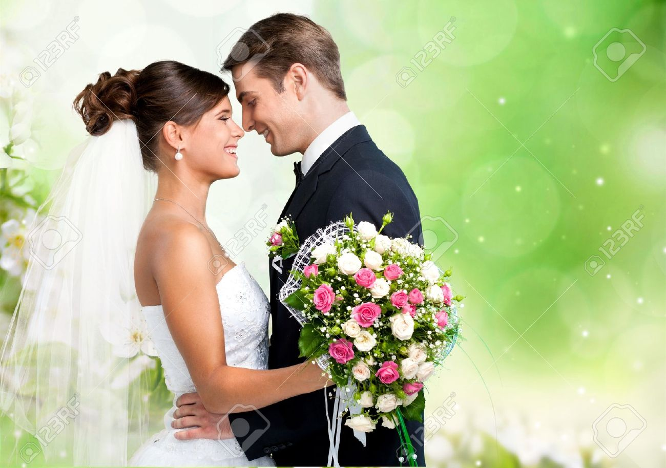 Wedding Couple Stock Photo Picture And Royalty Free Image Image