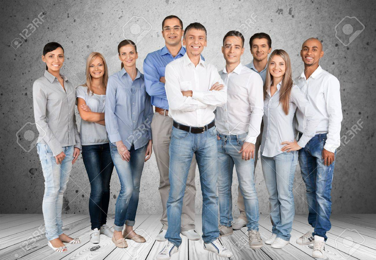 People, Group Of People, Business. Stock Photo - 42199005