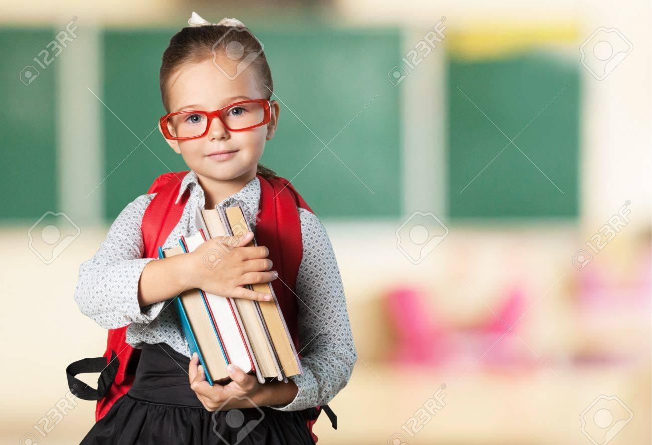 Book, school, kid. - 42687153