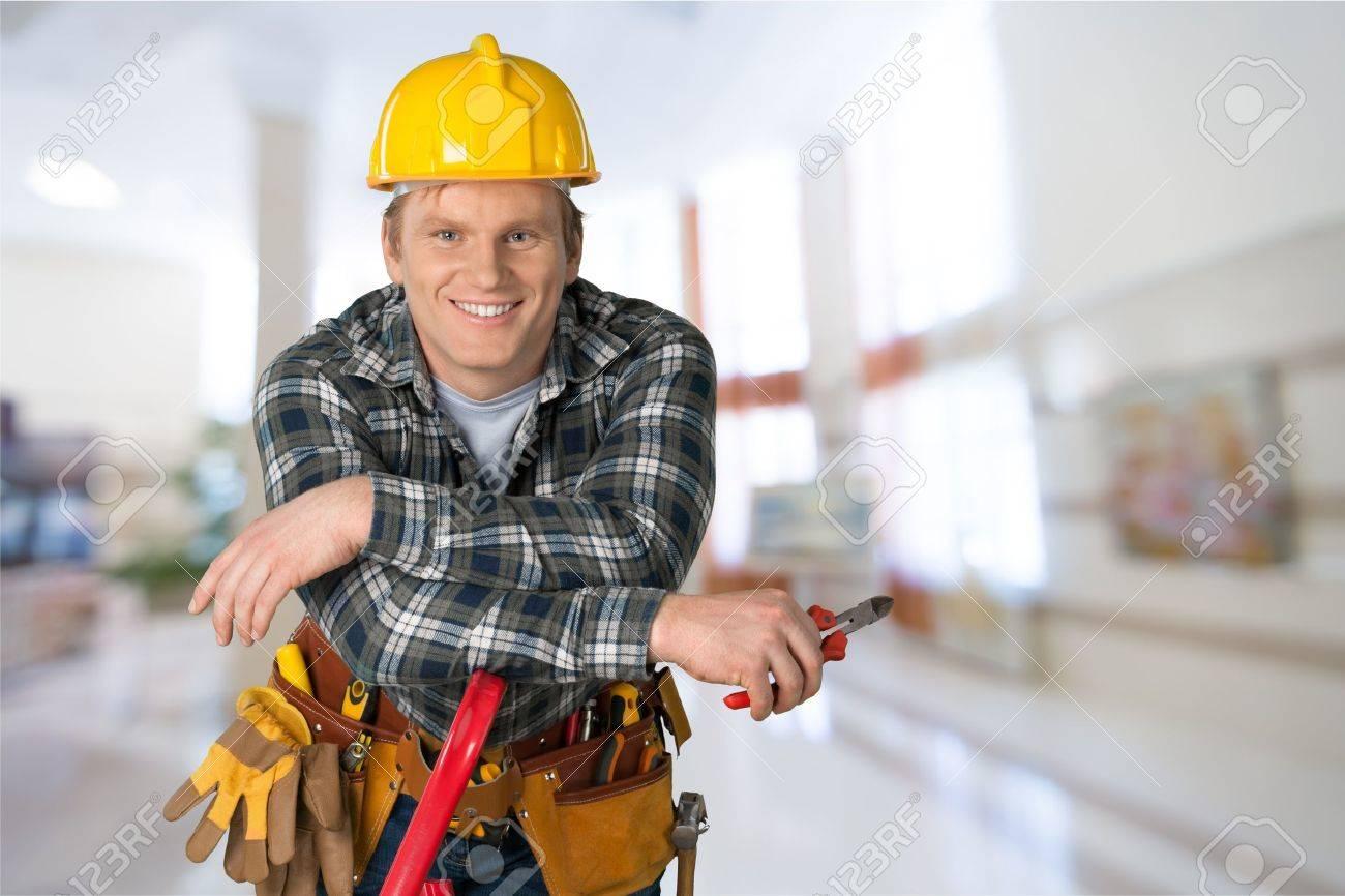 Electricista, Trabajador Manual, Trabajador De Construcción. Fotos ...