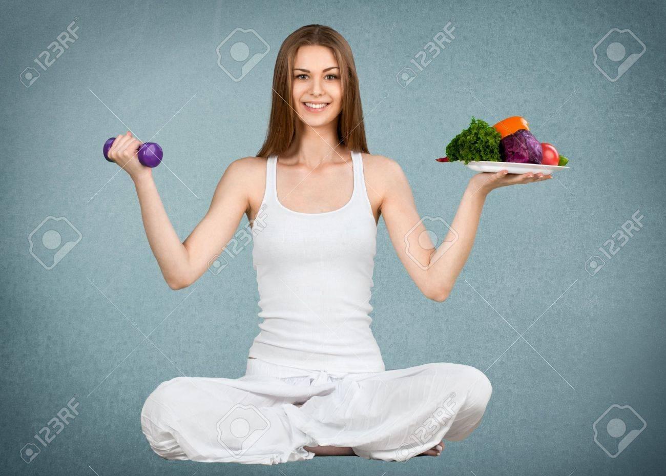 Exercising. - 43836136