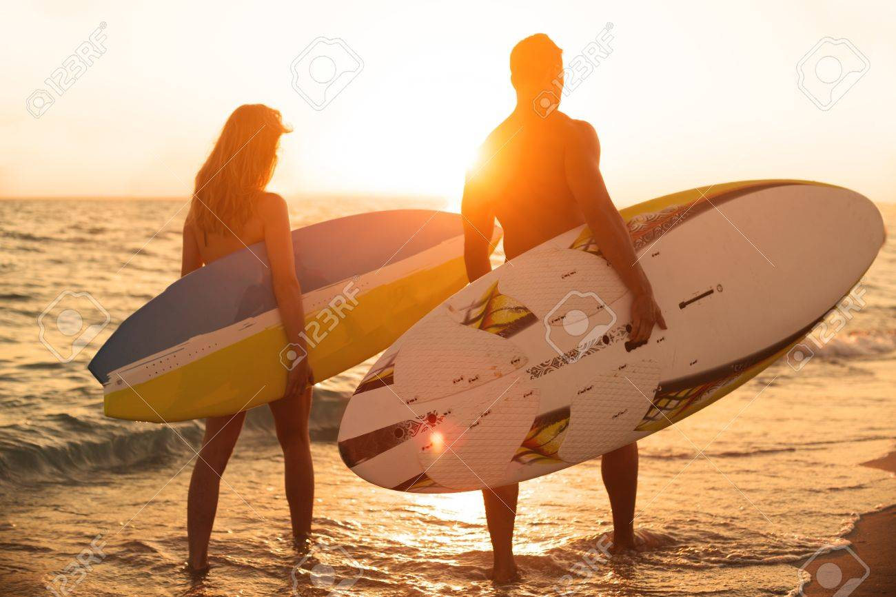 Surfing. Stock Photo - 48584696