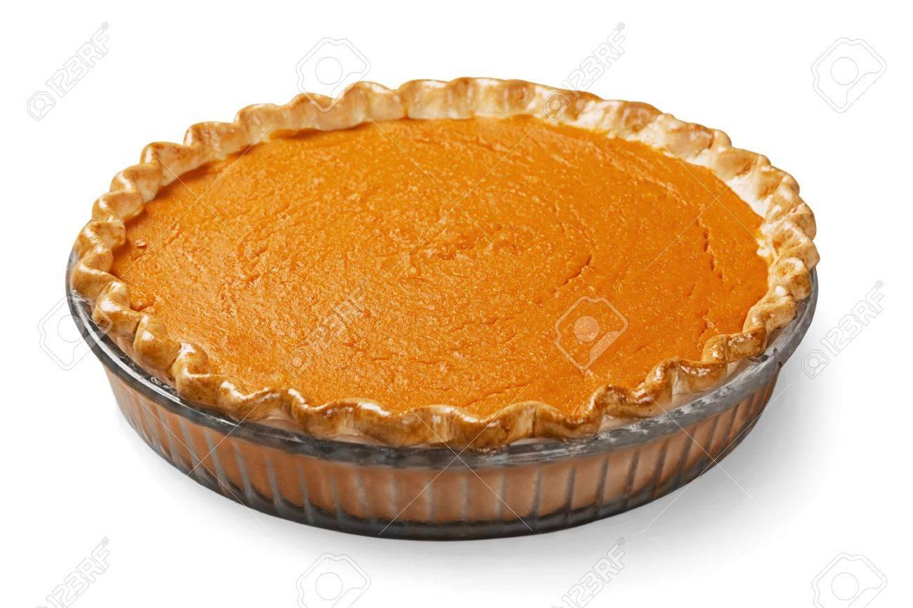 Pumpkin Pie. Stock Photo - 48443395