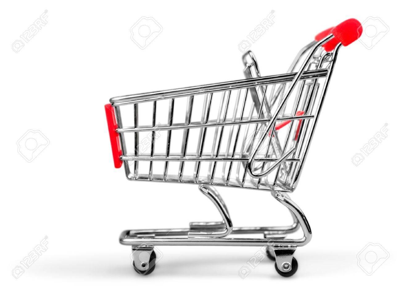 Shopping Cart. Stock Photo - 48636744