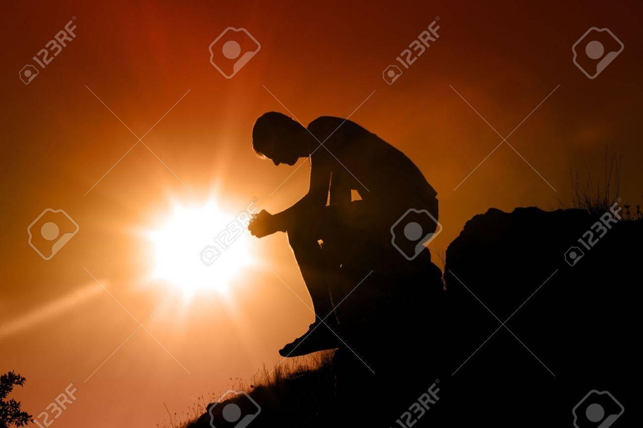 Praying. Stock Photo - 48637736