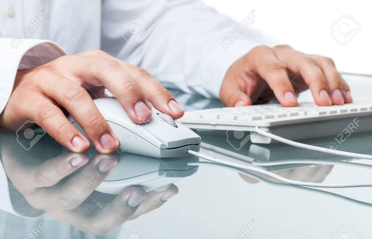 Computer. Stock Photo - 48663160