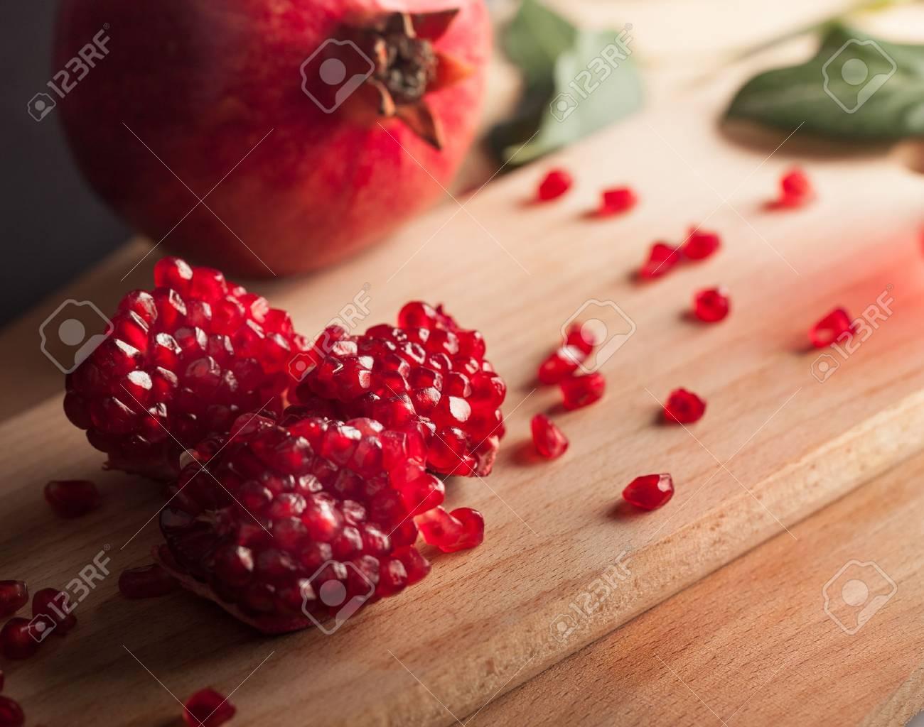 Pomegranate. Stock Photo - 48637878