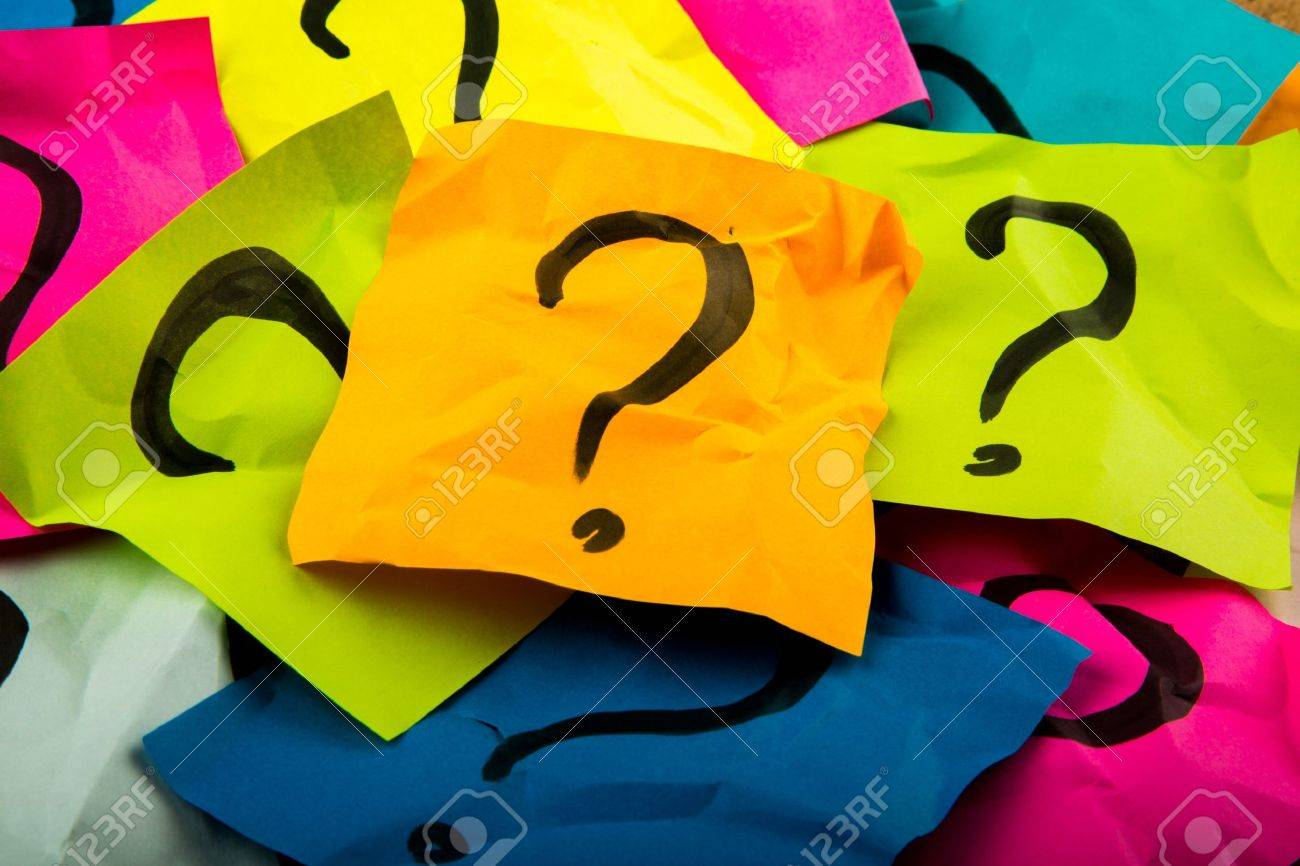 Question Mark. Stock Photo - 48762755