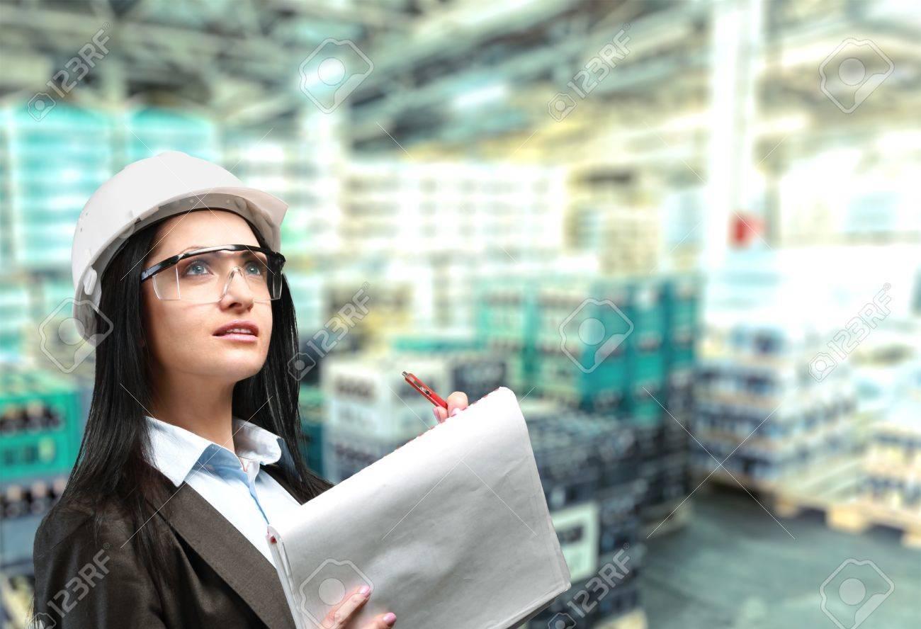Engineer. Stock Photo - 50865701