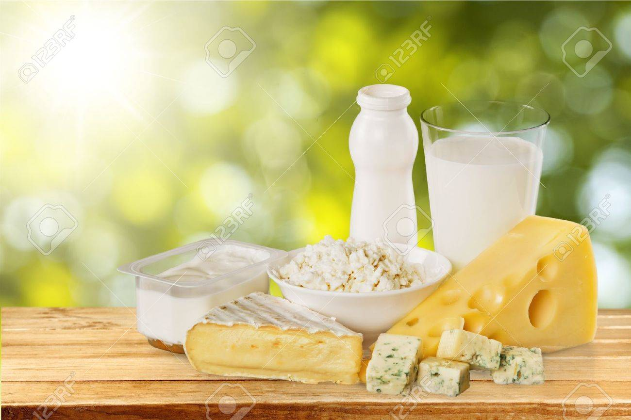 Dairy Product. Stock Photo - 51609431
