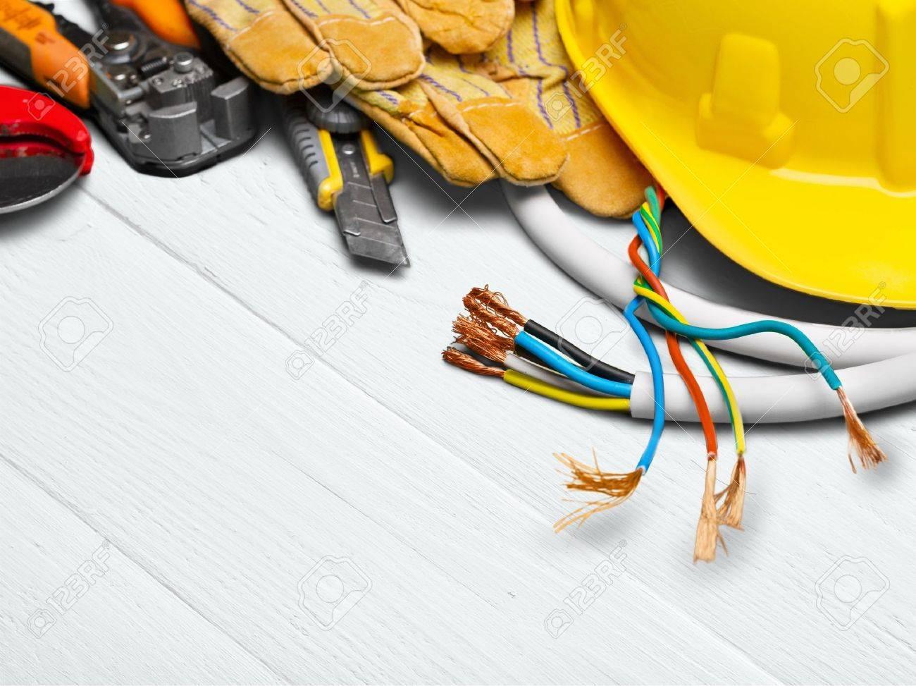 Électricien. Banque d'images - 51609491