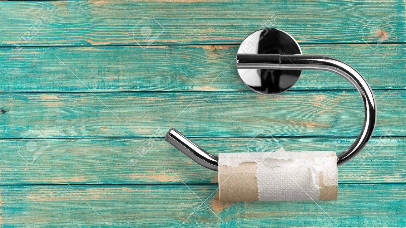 Toilet Paper. Banque d'images - 52031206