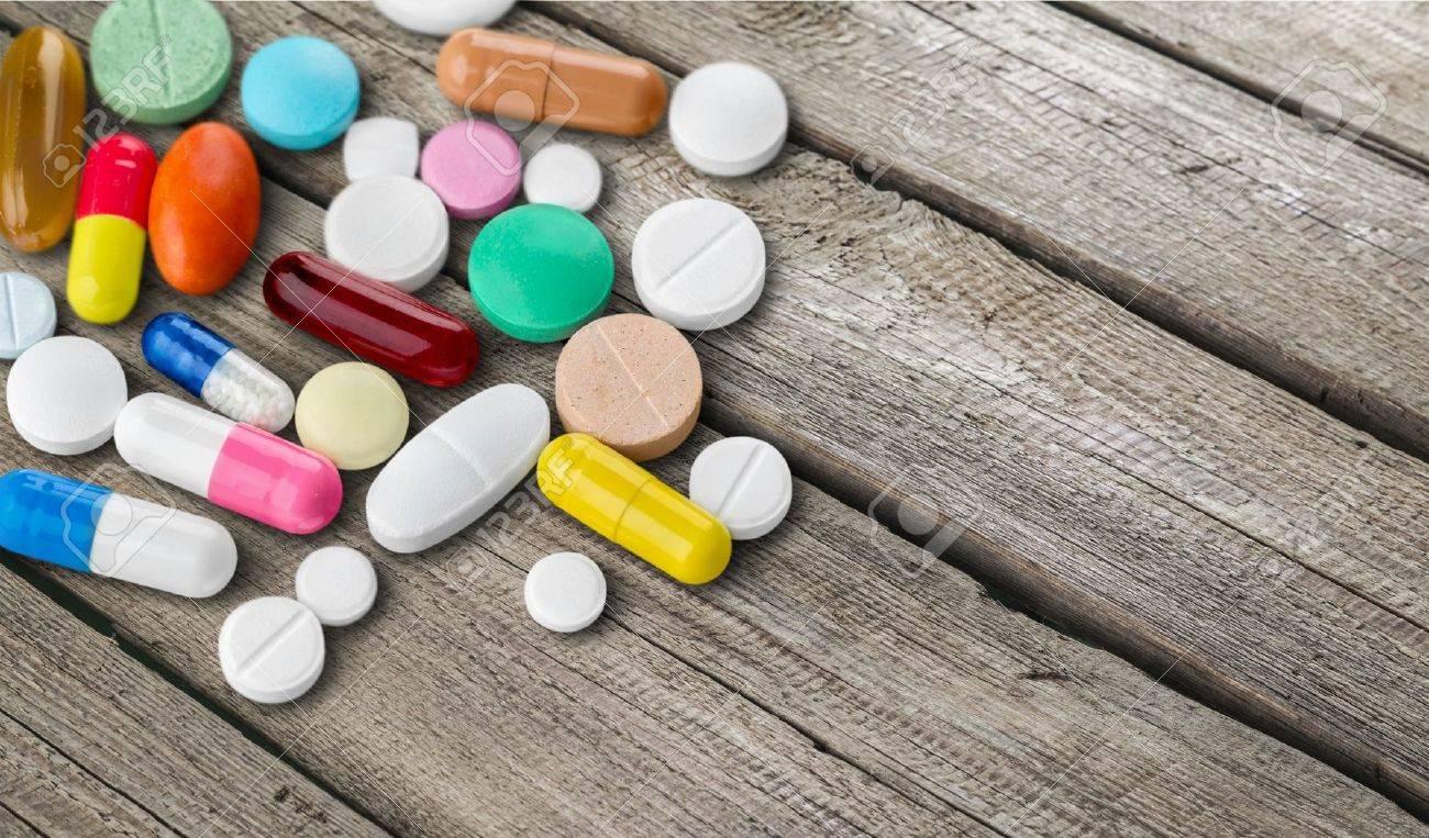 Médicaments. Banque d'images - 54026283