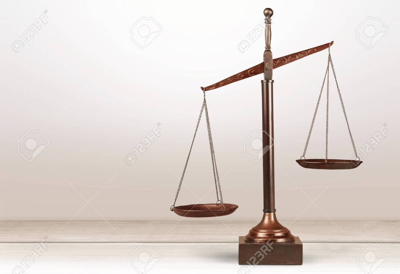 Scales of Justice, Weight Scale, Balance. - 128531427