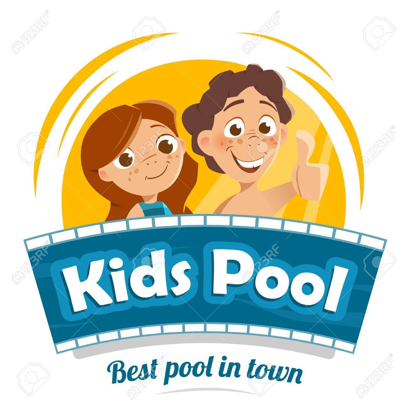 Aqua Water Park Or Swimming Pool Logo Design Template Stock Vector    69360246